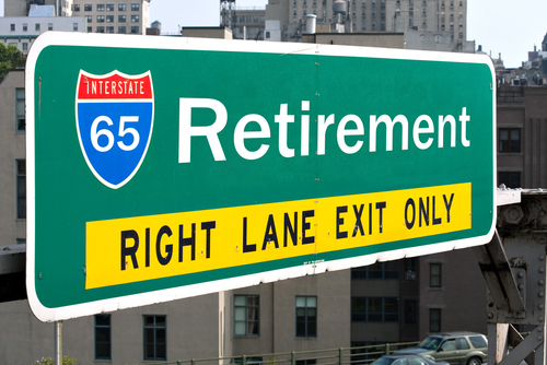 retirement freeway exit